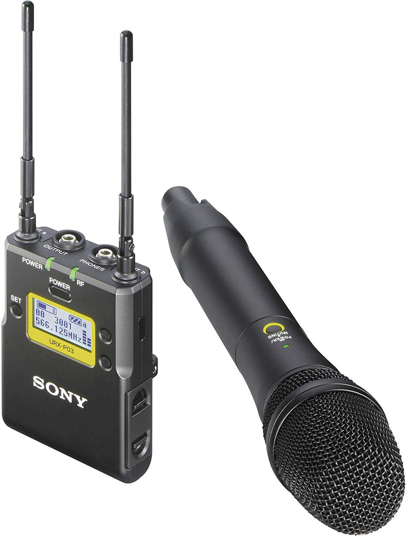 Sony UWP-D12 Wireless Handheld Microphone ENG System