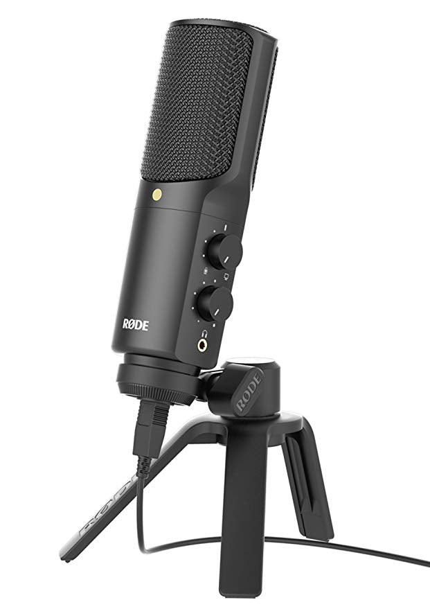 Rode  NT-USB professional condenser recording microphone USB computer mic