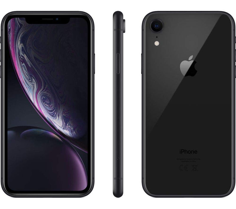 Apple iPhone XR Dual SIM with FaceTime 128GB 4G LTE - Black