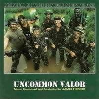 Album Cover of Horner, James - Uncommon Valor / Wolfen (2 Scores on 1 CD)