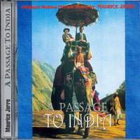 Album Cover of Jarre, Maurice - A Passage to India / Crossed Swords (2 Motion Picture Scores on 1 CD)