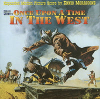 Album Cover of Morricone, Ennio - Once Upon A Time In the West - Sergio Leone's Western (Score CD)