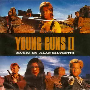Album Cover of Silvestri, Alan - Young Guns II / Mac and Me (2 Motion Picture Scores on 1 CD)
