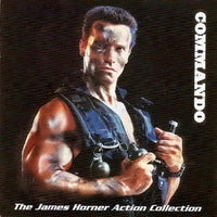 Album Cover of Horner, James - Commando (Original Motion Picture Score CD)