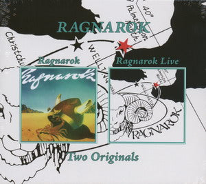 Album Cover of Ragnarok - Ragnarok & Ragnarok Live  (2 on 1 Digipak)