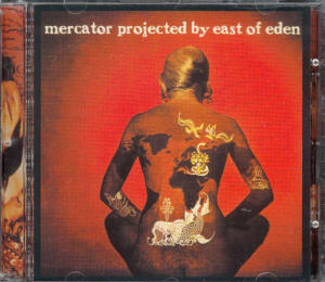 Album Cover of East Of Eden - Mercator Projected