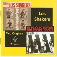 Album Cover of Los Shakers - Los Shakers + Shakers For You  (2 on 1 CD)
