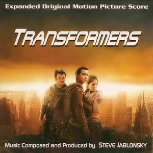 Album Cover of Jablonsky, Steve - Transformers (Score-CD)