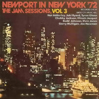 Album Cover of Newport in New York '72 - The Jam Sessions Vol. 3 (Repertoire CD)
