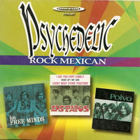 Album Cover of V.A. - Psychedelic Rock Mexican (Papersleeve CD)