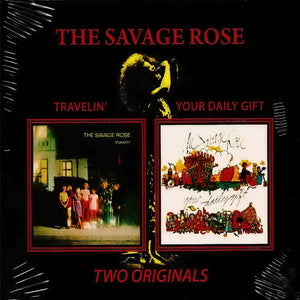 Album Cover of Savage Rose, The - Travelin' & Your Daily Gift  (2 on 1 CD)