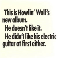 Album Cover of Howlin' Wolf - The Howlin' Wolf Album