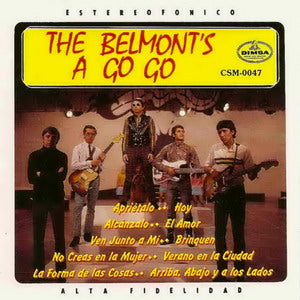 Album Cover of Los Belmonts - The Belmonts A Go Go