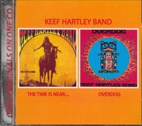 Album Cover of Keef Hartley Band - The Time Is Near & Overdog 2 on 1
