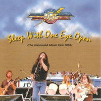 Album Cover of Atlanta Rhythm Section - Sleep With One Eye Open - the unreleased album from 1983 -