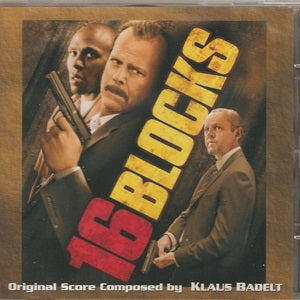 Album Cover of Badelt, Klaus - 16 Blocks & Heartbreaker  (Score-CD)