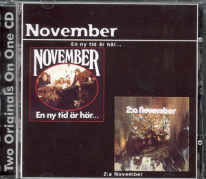 Album Cover of November - En ny tid är här/ 2:a November  (2 on 1 CD)