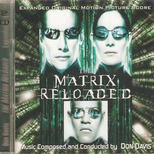 Album Cover of Davis, Don - The Matrix Reloaded  (Score Double-CD)