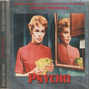 Album Cover of Herrmann, Bernard - Psycho & Psycho II  (Score-CD)