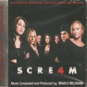 Album Cover of Beltrami, Marco - Scream 4  (Score-CD)