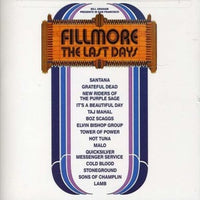 Album Cover of Various Artists - Fillmore - The Last Days (Reissue coloured 3 LP-Box + 7