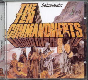Album Cover of Salamander - The Ten Commandments