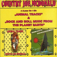 Album Cover of Country Joe McDonald - Animal Tracks & Rock and Roll Music From The Planet Earth