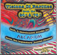 Album Cover of V.A:+4 Arcadium unreleased - Visions Of Rarities From The 60th & 70th