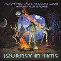 Album Cover of Victor Peraino's Kingdom Come - Journey In Time (feat. Arthur Brown)  (Vinyl Reissue)