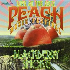 Album Cover of Blackberry Smoke - Live At The 2012 Peach Music Festival  (CD)