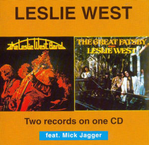Album Cover of West,Leslie - Leslie West Band / The Great Fatsby (2 on 1 CD)