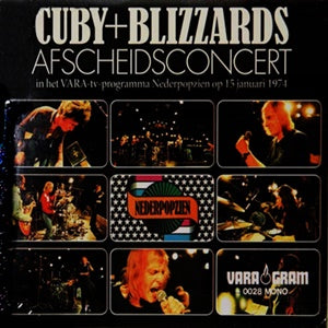 Album Cover of Cuby + Blizzards - Afscheidsconcert + bonustracks