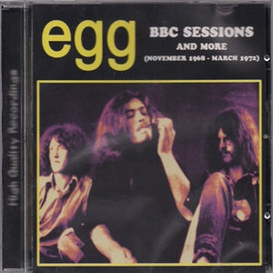 Album Cover of Egg - BBC Sessions And More (1968 - 1972)