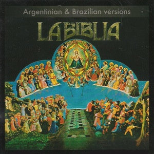 Album Cover of La Biblia - Opera Rock - Argentinian & Brazilian Versions