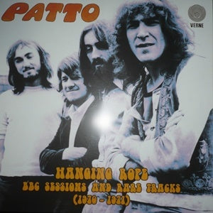 Album Cover of Patto - Hanging Rope - BBC Sessions And Rare Tracks (1970-1971)  (Double Vinyl Reissue)