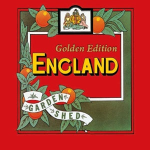 Album Cover of England - Garden Shed - Golden Edition + Bonustracks (Double Colored Golden Vinyl Reissue)