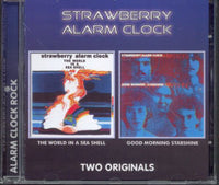 Album Cover of Strawberry Alarm Clock - The world in a sea shell & Good morning starshine