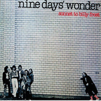 Album Cover of Nine Days Wonder - Sonnet To Billy Frost
