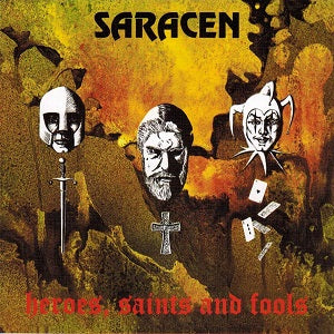 Album Cover of Saracen - Heroes, Saints and Fools