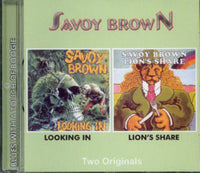 Album Cover of Savoy Brown - Looking In & Lion's Share