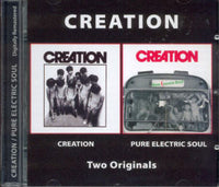 Album Cover of Creation - Creation & Pure Electric Soul  (2 on 1 CD)