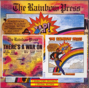 Album Cover of Rainbow Press, The - There's A War On & The Rainbow Press (2 on 1 CD)