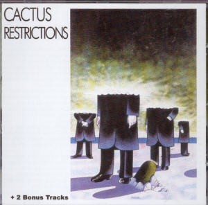 Album Cover of Cactus - Restrictions + 2 Bonus