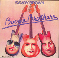 Album Cover of Savoy Brown - Boogie  Brothers + 4 Bonus