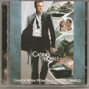 Album Cover of Arnold, David - Casino Royale (Original Motion Double CD Score)