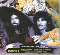 Album Cover of Demian & Bubble Puppy - S/T  & A Gathering Of Promises  (Digipak)