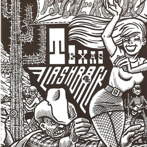 Album Cover of V.A. - Texas Flashback Vol.4  (60'Texas Psych/Punk-Sampler-CD)