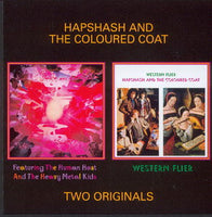 Album Cover of Hapshash And The Coloured Coat - Featering The Human Host And The Heavy Metal Kids & Western Flier (2on1 CD)