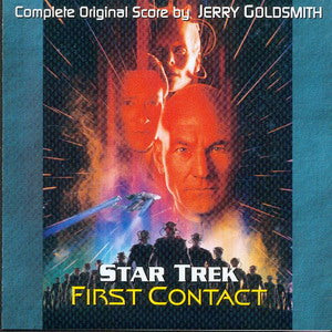 Album Cover of Goldsmith, Jerry - Star Trek - First Contact (Complete Original Score CD)