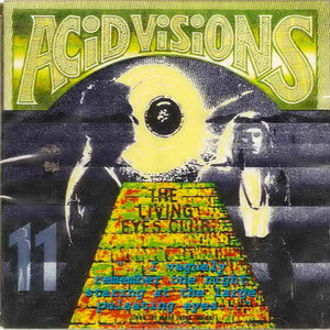 Album Cover of V.A. - Acid Visions Vol. 11 - The Living Eyes Club